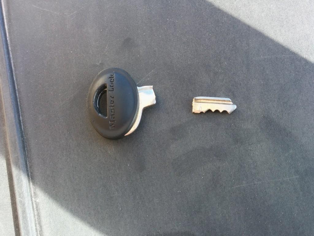 Master lock but not master key.