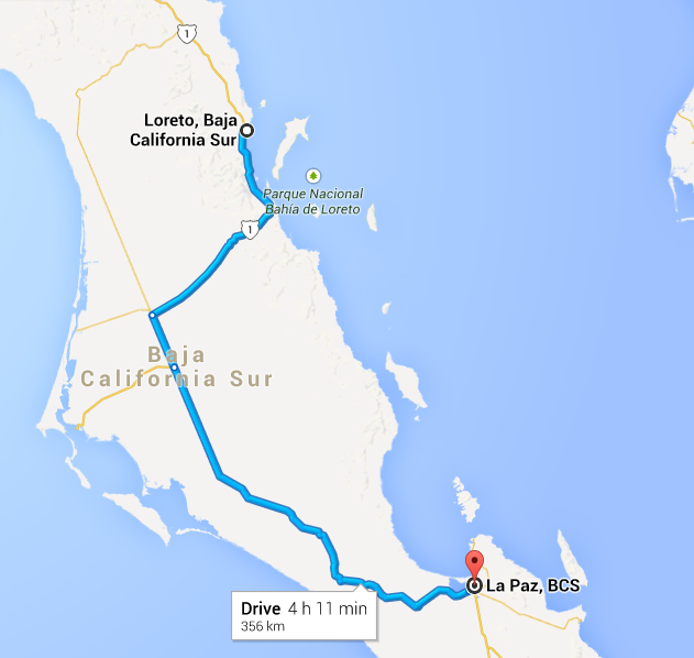 The general route.