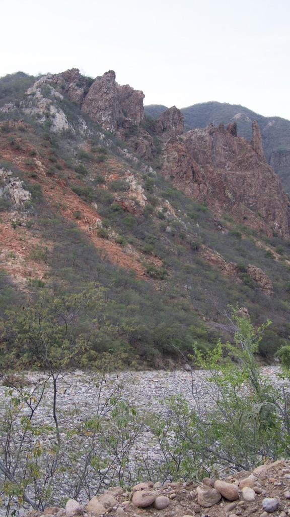 They call it the Copper Canyon because of it's copper and green color. What, did you expect some mystical explanation?
