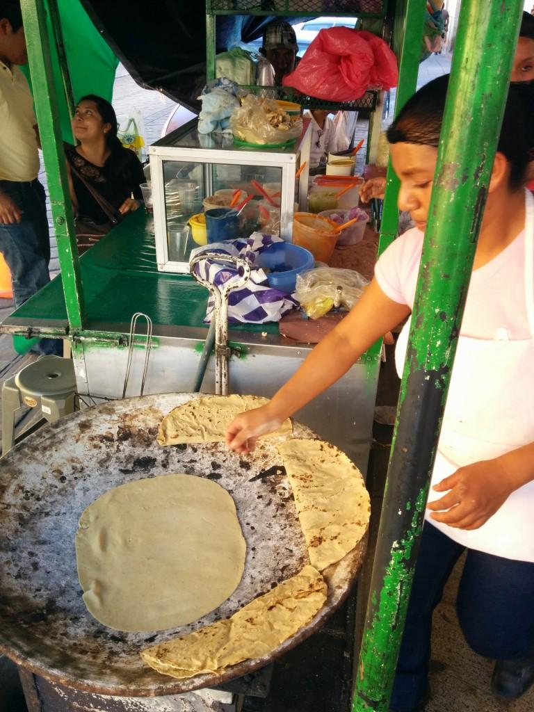 Hand-made tortillas, can't beat em.