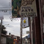 Lots of cool hand painted signs around Ajijic.