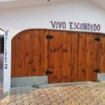 vivo escondido garage entrance